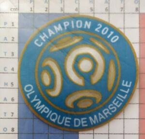 France-Patch-Badge-bleu-LFP-Ligue-1-maillot-de-foot-de-OM-Champion-2010-10-11