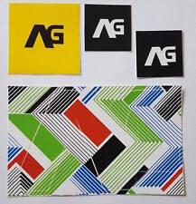 *** Analog - Snowboard Sticker Set - 4 Stück ***