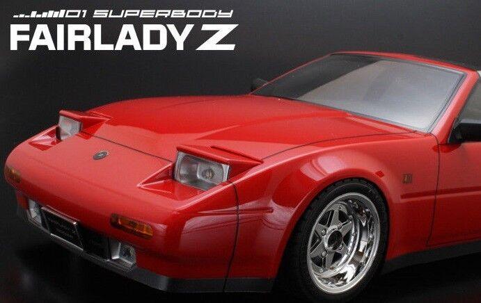 1/10 Rc car Carrosserie Nissan FairMadame Z 300zx Turbo W/ 190mm W/ Turbo Clair Seau 4231a1