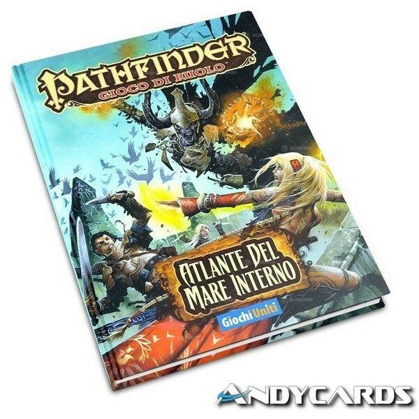 DANNEGGIATO ☻ Pathfinder - Atlante del Mare Interno ☻ Manuale ☻ Lingua Italiana