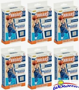 6-2018-19-Panini-Threads-Basketball-Factory-Sealed-Hanger-Box-12-RC-STATEMENTS