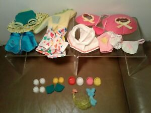 Vintage-My-Little-Pony-Mixed-Lot-Of-Clothing-Outfits-Accessories-Hasbro-G1