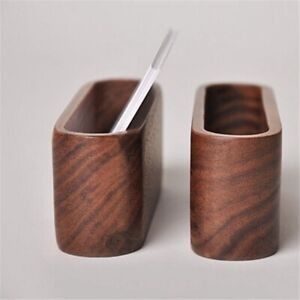 3-StueCke-Holz-Visiten-Karten-Halter-Schreibtisch-Visiten-Karten-Halter-Holz-P7B2