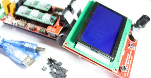 RAMPS 1.4 Set//Kit für RepRap 3D Drucker 5x A4988 Mega 2560 12864 LCD Arduino