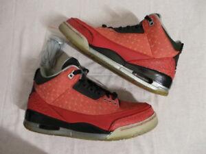 dd3824407b8cd7 Nike Air Jordan Doernbecher DB III 3 Retro size 10 NDS EUC cement dj ...