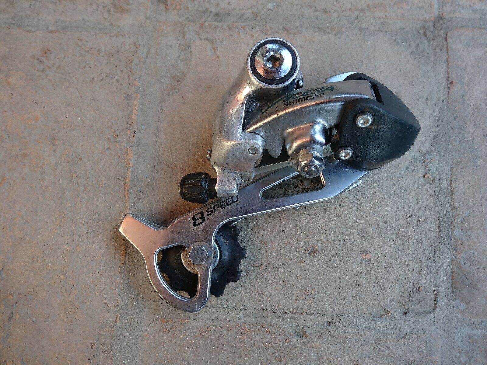 Vintage Shimano Acera 7 8 speed  rear derailleur  free delivery and returns