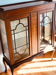 Outstanding Antique China Cabinet