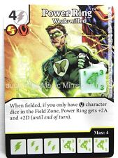 Green Arrow Flash ~ POWER RING Weak-willed #105 rare DC Dice Masters card