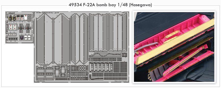 Eduard 1  48 F -22A Raptor Bomb Bay