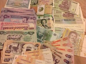 GREAT GIFT THE BEST SET 40 PCS UNC 40 BANKNOTES  World Paper Money Collection