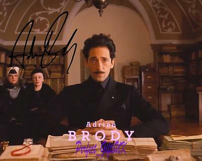Adrien Brody The Grand Budapest Hotel SIGNED AUTOGRAPHED 10X8 REPRO PHOTO