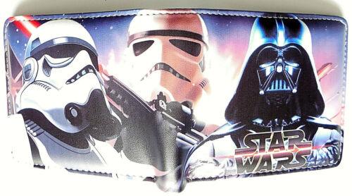 Star Wars Force Awakens wallet purse id window zipped pocket card slot 2 styles