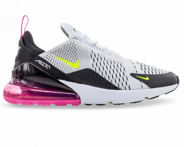 Nike Air Max 270 AH8050 109 Mens Trainers White Black Gym Running Shoes Sneakers