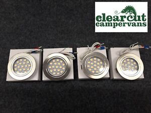 4-x-TOUCH-OPERATED-12V-LED-SPOTLIGHTS-DOWNLIGHTERS-CAMPERVAN-MOTORHOME-LIGHTING