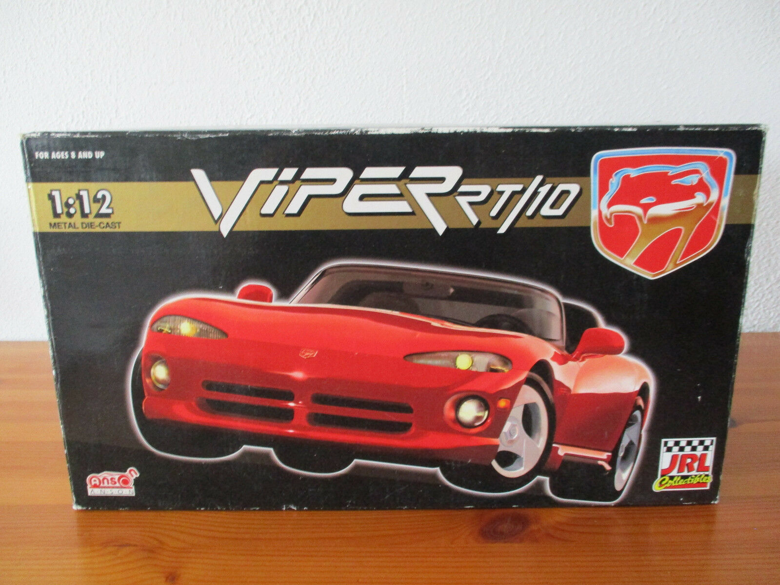 (Gor) 1:12 Anson Dodge VIPER VIPER VIPER rt/10 Nouveau neuf dans sa boîte   De Haute Qualité  0be948