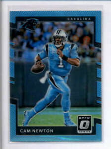 CAM-NEWTON-2017-DONRUSS-OPTIC-100-LIGHT-BLUE-PRIZM-234-299-AJ4871