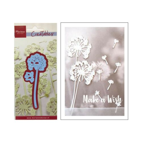 Dandelions Metal Die Cut Stencil Marianne Craft Cutting Dies LR0513 Flowers Wish