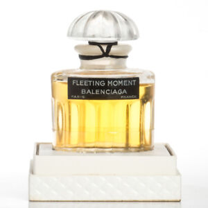 Perfume Sealed Balenciaga Details 1oz Box Parfum Vintage About Moment Fleeting Extrait TZuOPXki