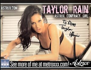 Image Is Loading Taylor Rain 034 Sexy Adult Star 034 Auth