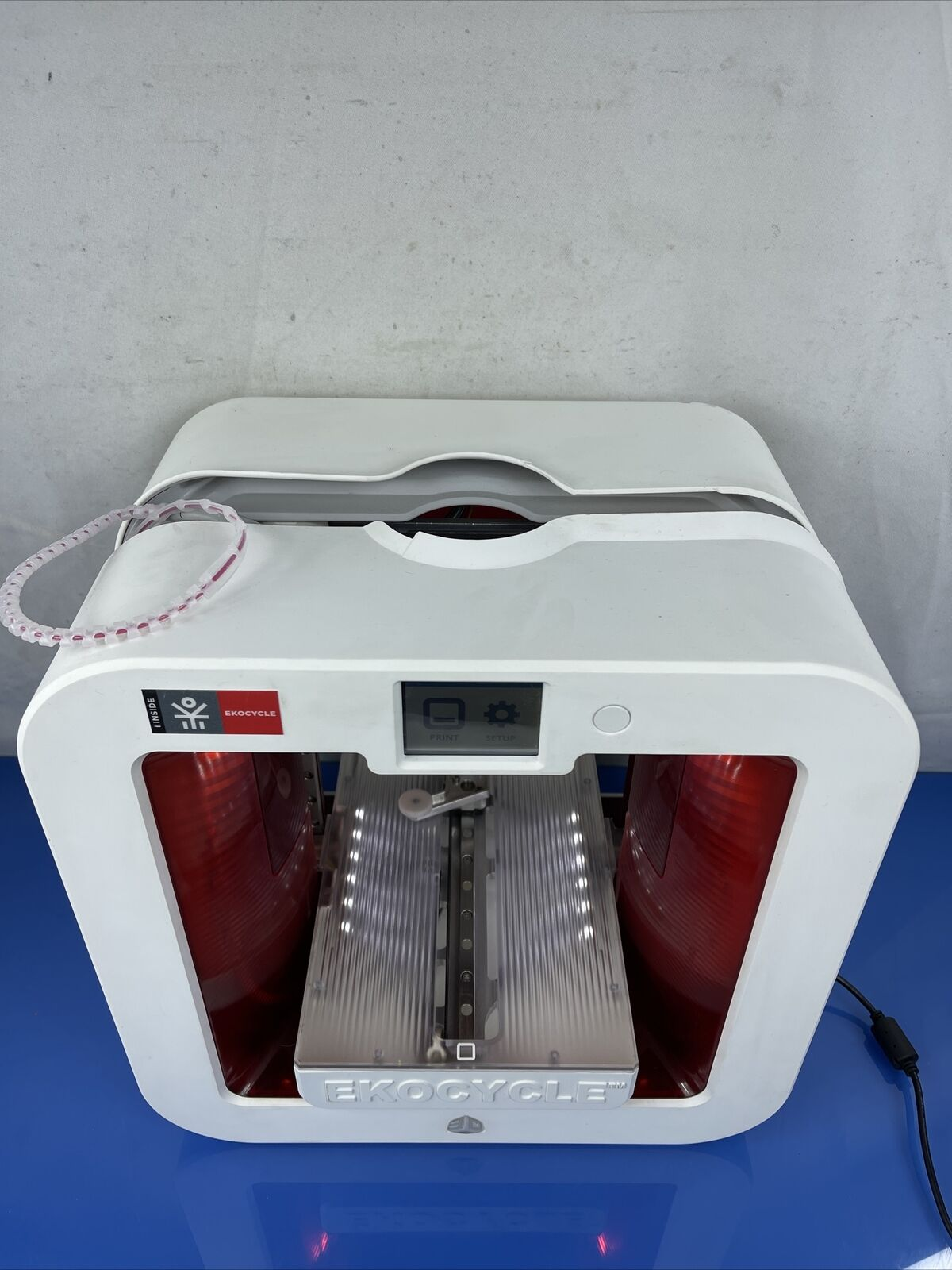 The EKOCYCLE Cube Personal 3D Printer Recycle & Remake
