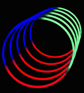 (50pcs) GLOW NECKLACES 22"