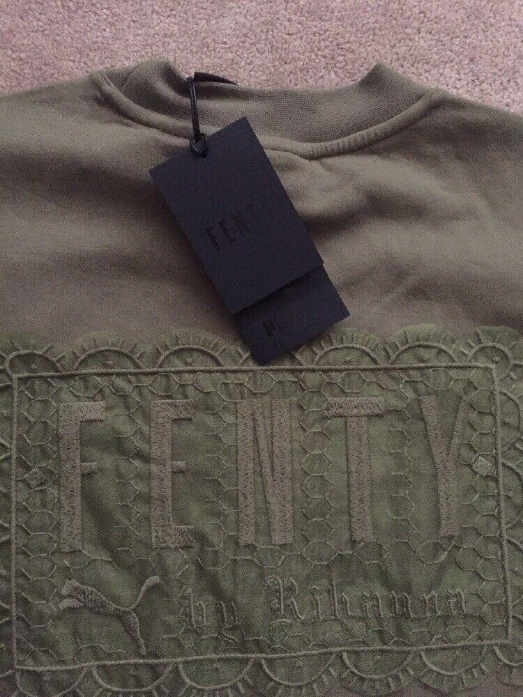 NEW damen Fenty Puma By Rihanna Drawstring Graphic 13 T-Shirt T-Shirt T-Shirt TEE Top | Neues Produkt  | Lassen Sie unsere Produkte in die Welt gehen  | Angemessene Lieferung und pünktliche Lieferung  | Deutschland  | Sale Düsseldorf  ba37ff
