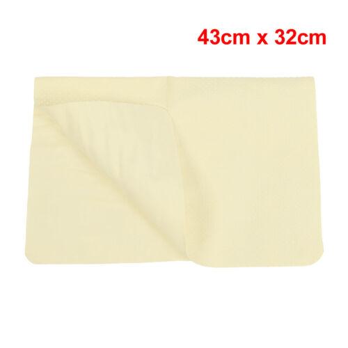 43 X 32cm Sintético Gamuza Paño de Limpieza Toalla de secado De Lavado para Coche Hogar