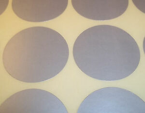 1000-Plateado-25mm-2-5cm-color-Code-Lunares-Redondo-PEGATINAS-ADHESIVO