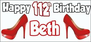 Personalised Ballet 17th Birthday Banner x2 Party Decorations Girls Daughter