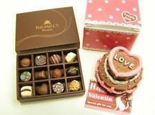 re-ment miniature #48 Elegant Sweets valentine cake chocolates in box