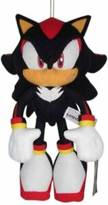 "Super Shadow 12/"" Inch Plush NEW Great Eastern Sonic The Hedgehog MOVIE"
