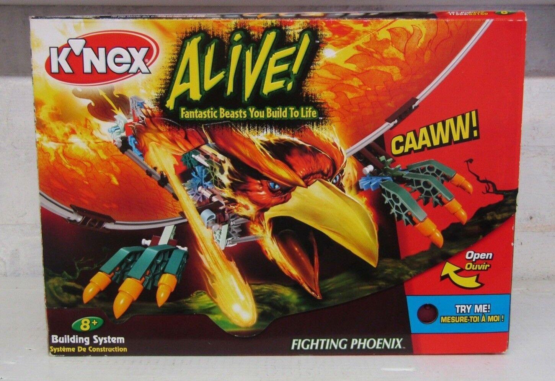Hasbro K'nex Alive Fighting Phoenix New