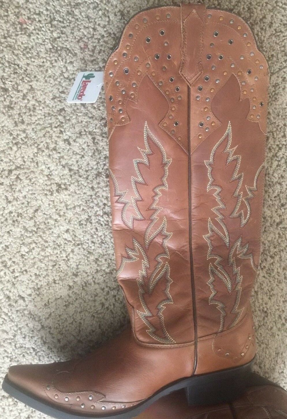 Laredo Ladies Western Style Cowboy Boots , Style  2 fast shipping