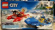 LEGO 60176 City Police Wild River Escape 126 Pieces BNIB