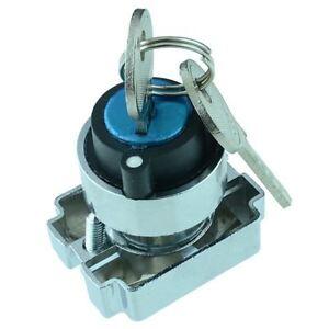Techna-PtecMetK2CRA-2-Position-Metal-Key-Switch