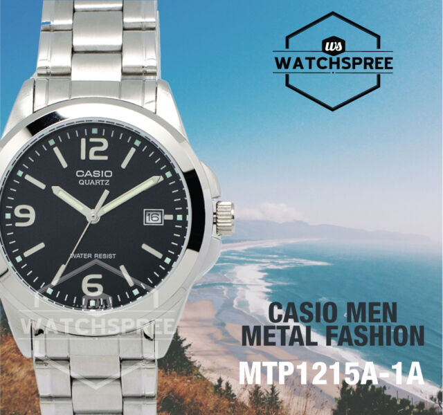 Casio Men's Standard Analog Watch MTP1215A-1A