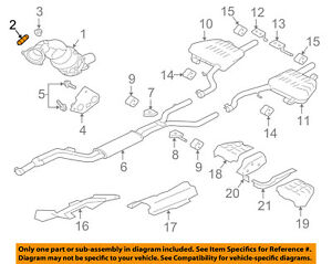jaguar oem 09 10 xf 4 2l v8 exhaust manifold exhaust manifold stud rh ebay com LHT Exhaust Manifold B-Series Chevy Atlas Exhaust Manifold