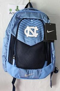 NWT NIKE VAPOR POWER North Carolina UNC Laptop Backpack Bookbag BA5285 Blue