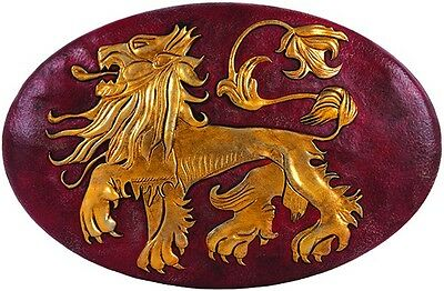 Game of Thrones SDCC 2014 LANNISTER Lion SHIELD Prop Replica WALL PLAQUE LE 2300