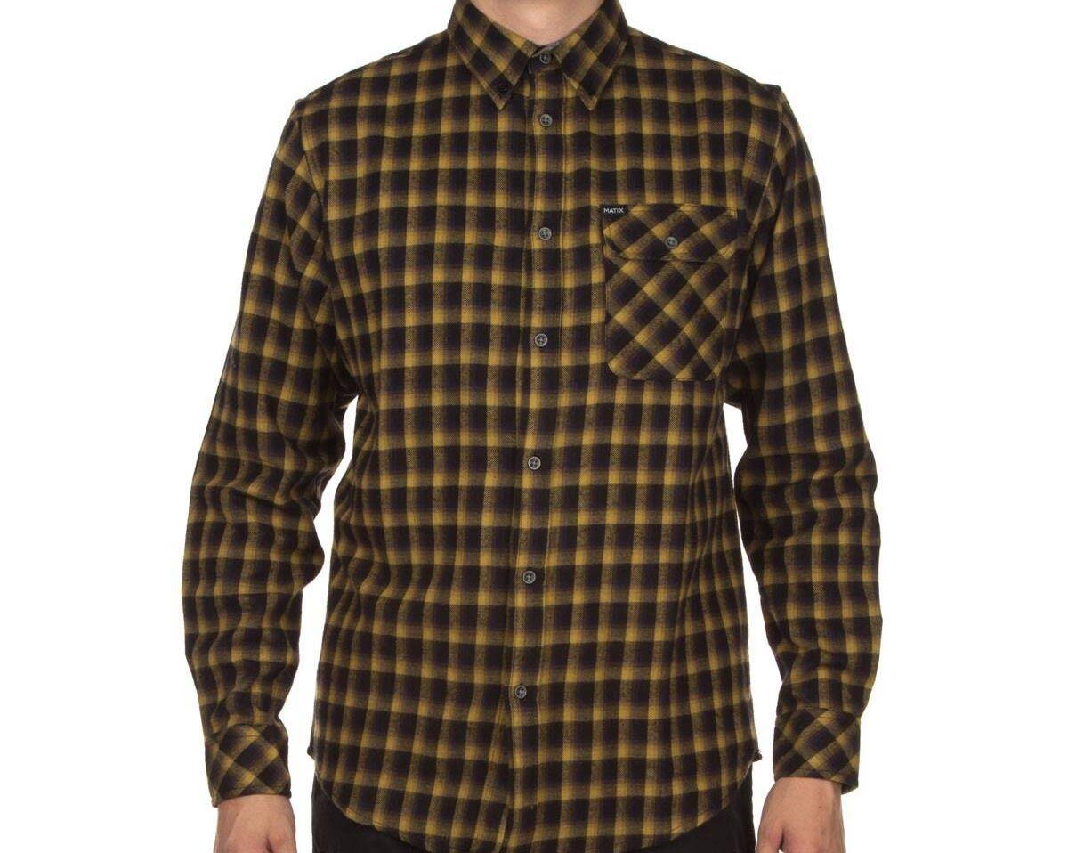 MATIX Yeti Flannel Shirt (M) Woodland