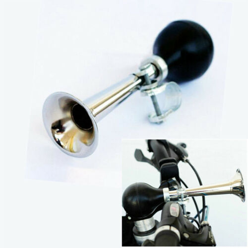 Bike Mountain Bicycle Retro Air Horn Rubber Bulb Squeeze Hooter Bell Metal 1X