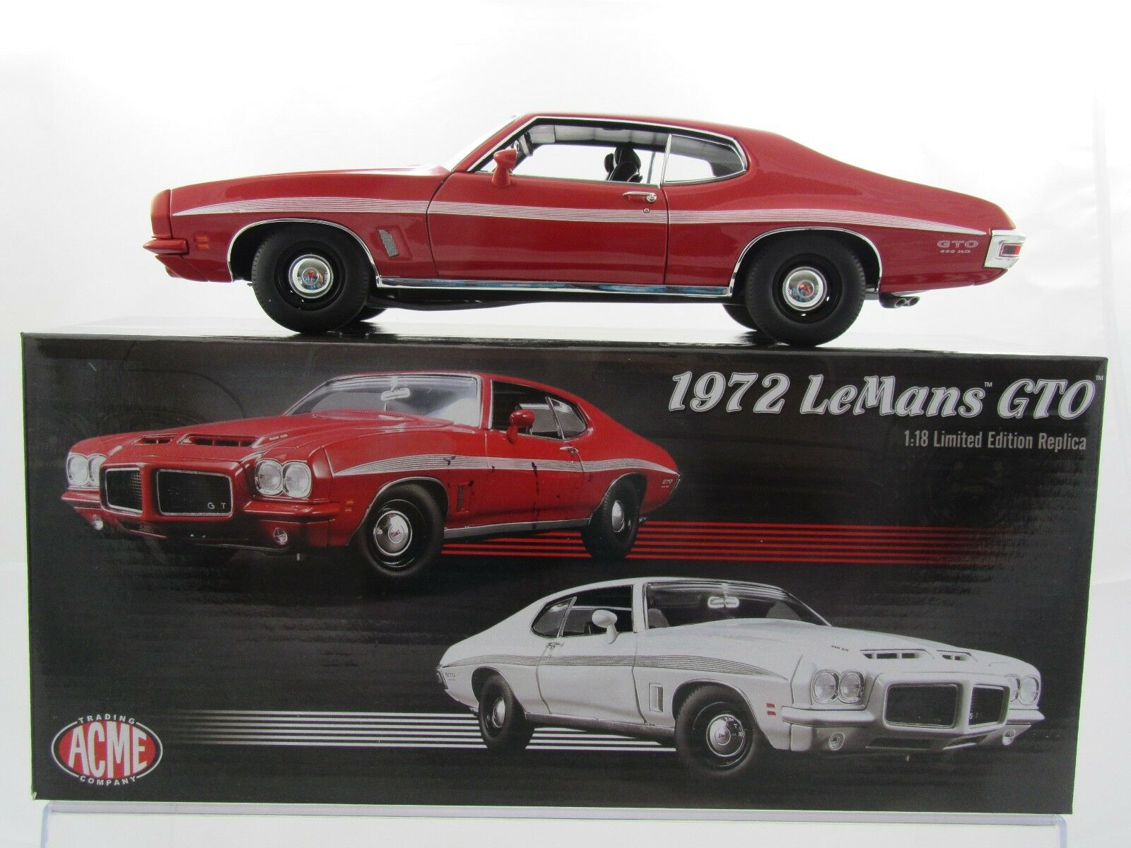 Acme 1972 LeMans GTO in rot A1801210