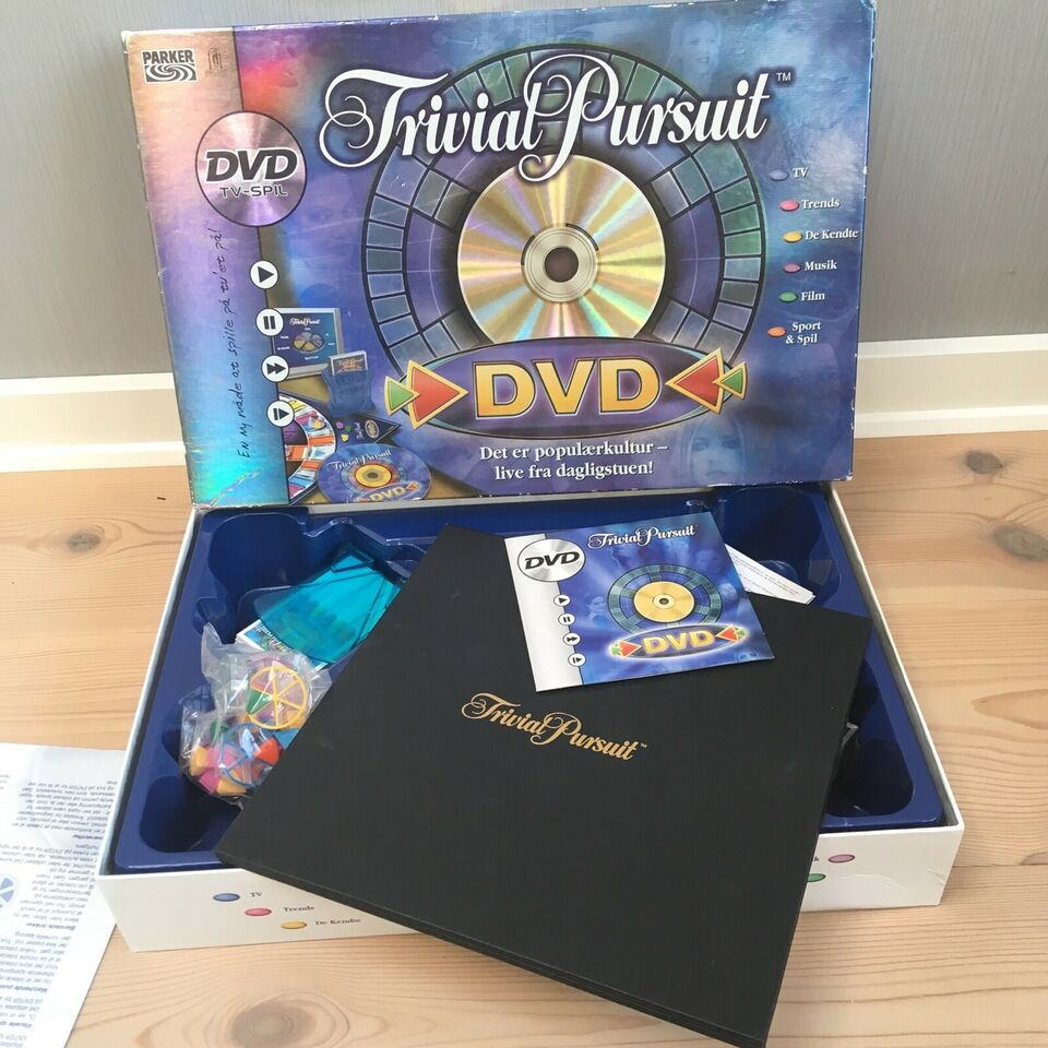 Trivial pursuit, Familiespil, brætspil