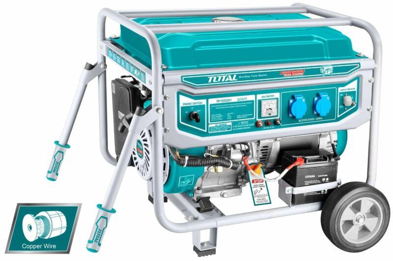 Total Petrol Generator - 5.5KW