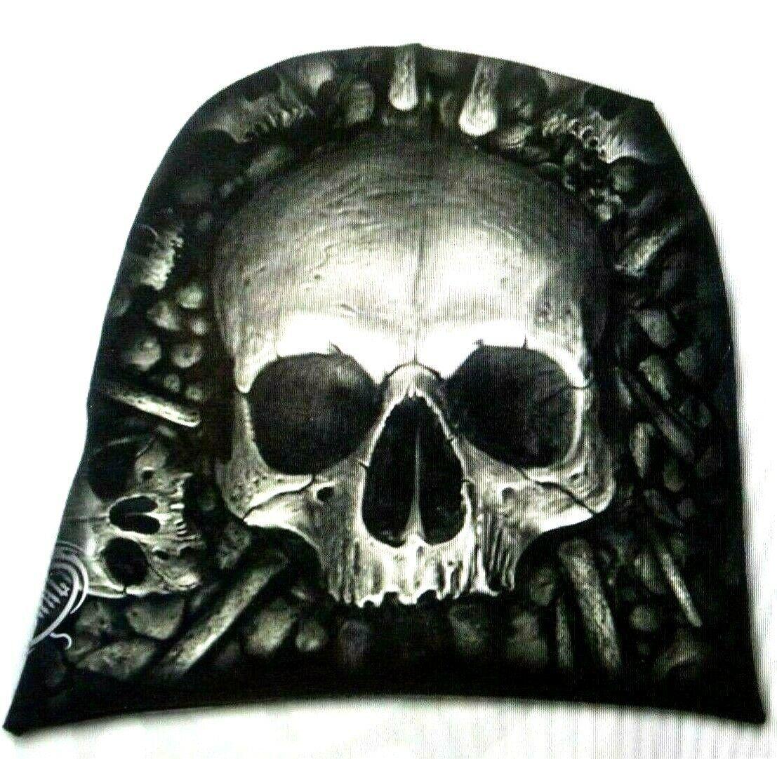 Spiral Beanies CATACOMB Cap Mütze Kopfbedeckung Punk Gothic Biker Rocker TOP