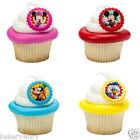 12 CAKE CUPCAKE RINGS FAVORS MINNIE MICKEY MOUSE YOU BETCHA! BIRTHDAY PARTY