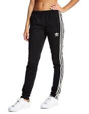 100% Genuine adidas Originals Supergirl Track Pants Trousers Women - Black UK 12