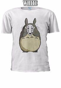 PerséVéRant Totoro Kaonashi Masque Spirited Away T-shirt Débardeur Tank Top Hommes Femmes Unisexe 2507-afficher Le Titre D'origine Facile à Lubrifier