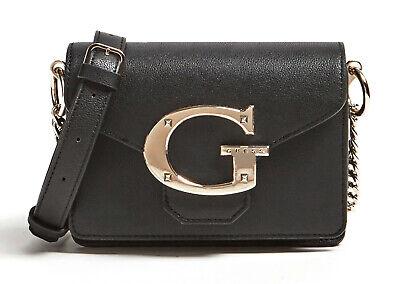 Guess Camila Mini Crossbody Flap Black, Women's Bag Shoulder Bag Crossover | eBay