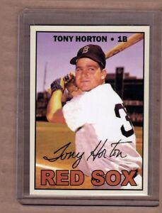 TONY-HORTON-BOSTON-RED-SOX-CUSTOM-CARD-BY-BOB-LEMKE-1967-STYLE-613